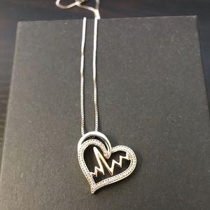 KAY Jewelers heart necklace 10k